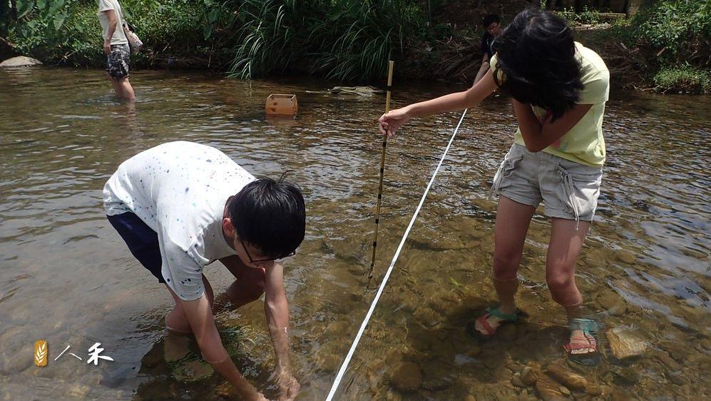 6_巡溪日可以很輕鬆,國中生也能協助溪況調查。(圖片來原:人禾)