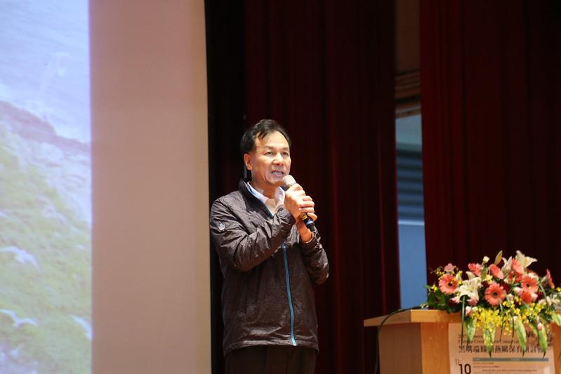 連江縣長劉增應於研討會中致詞。圖片來源:台北鳥會