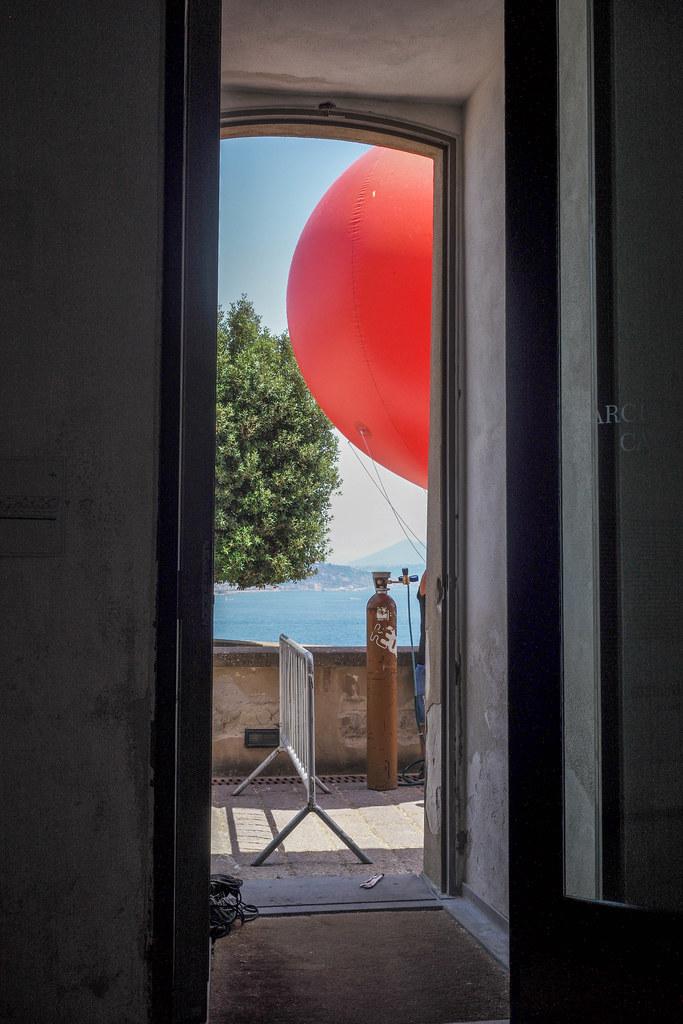 Balloon, Naples Bay, Vesuvius | by ADMurr