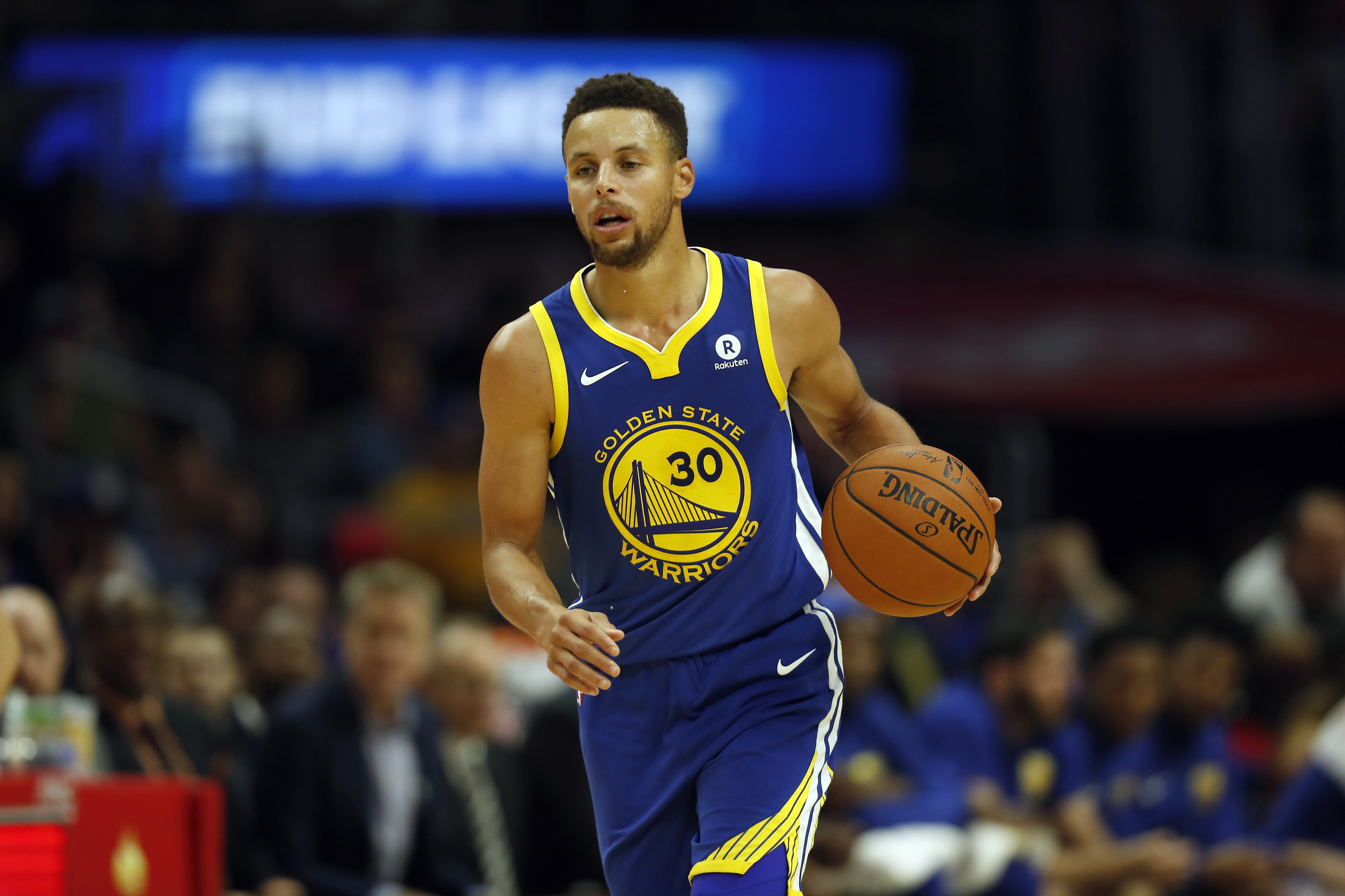 Stephen Curry。(達志影像資料照)