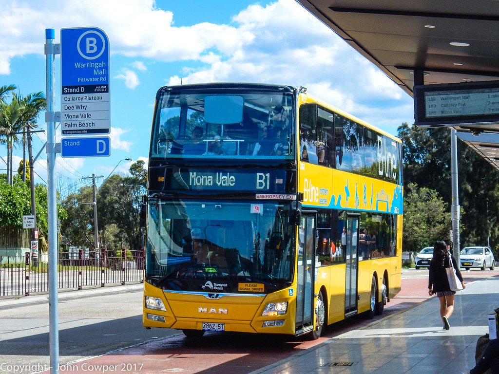 sydney buses - b-line northern beaches - st 2862 arrives a… | flickr