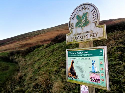 National Trust Information Board for Blackley Hey