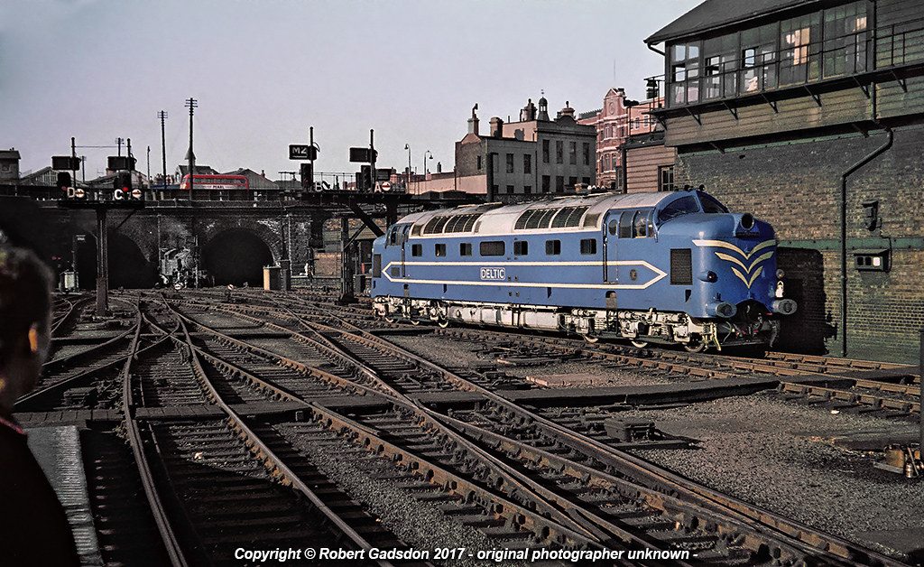 East Coast Diesel >> 1959 - The Shape of Things to Come.. | Prototype ''Deltic ...