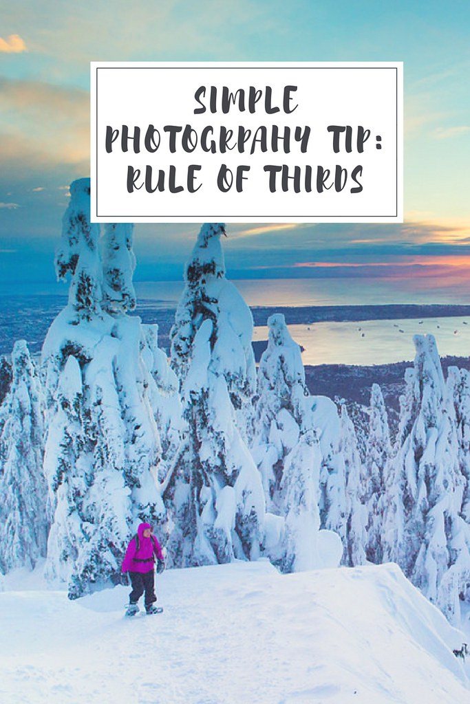 A simple tip on how to bring your photos to the next level with the rule of thirds!