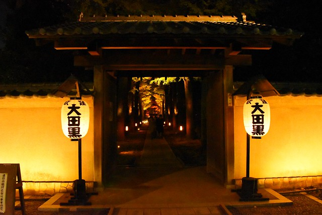 大田黒公園 入口の門