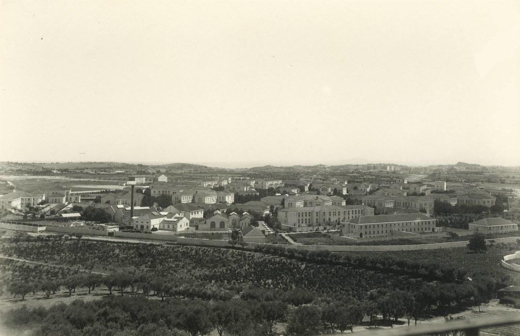 Panorâmica sobre o Hospital Júlio de Matos; Lisboa (E.Portugal, 1946)