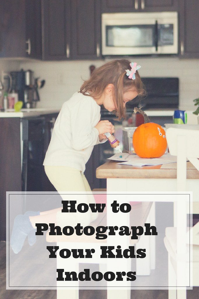How can you take better photos of your kids indoors?