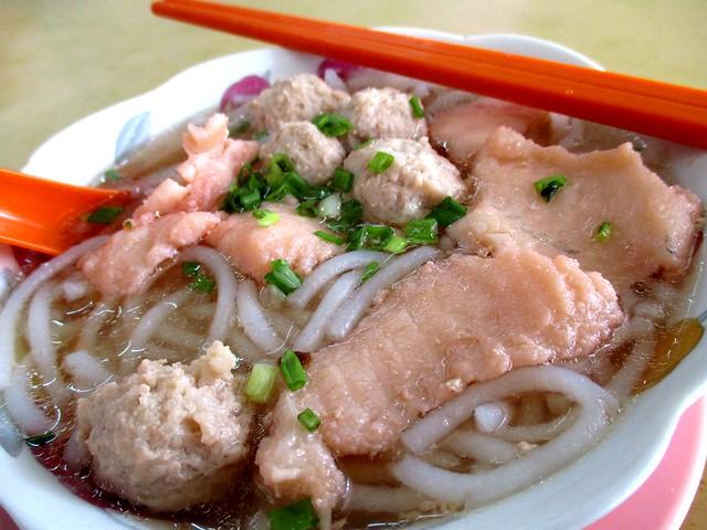 Yong Chuan fish hung ngang, clear soup