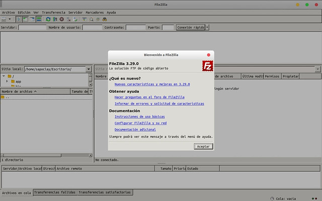 about-filezilla-flatpak