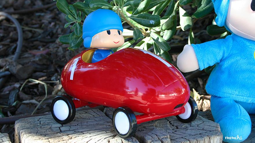 coche de carreras Pocoyo