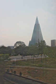 Ryugyong Hotel seen from the train, Pyongyang | by Timon91