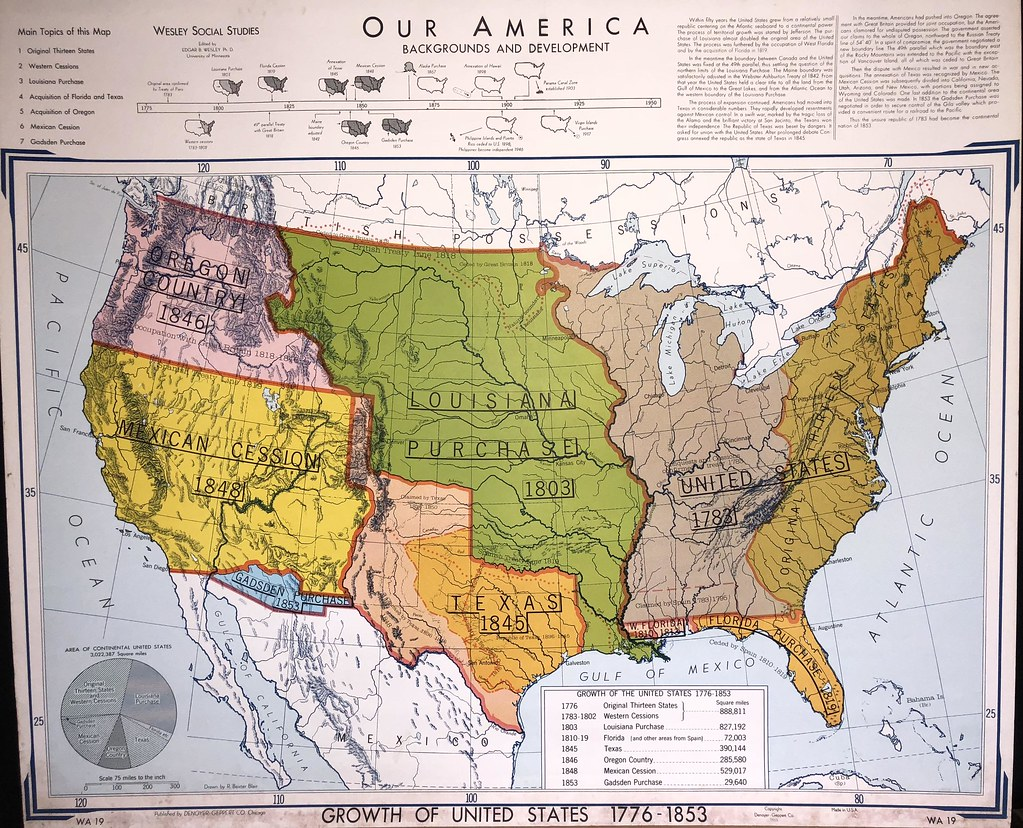 Our America: Backgrounds and development (1776 - 1853