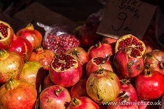 Pomegranates piled up | by wellsie82