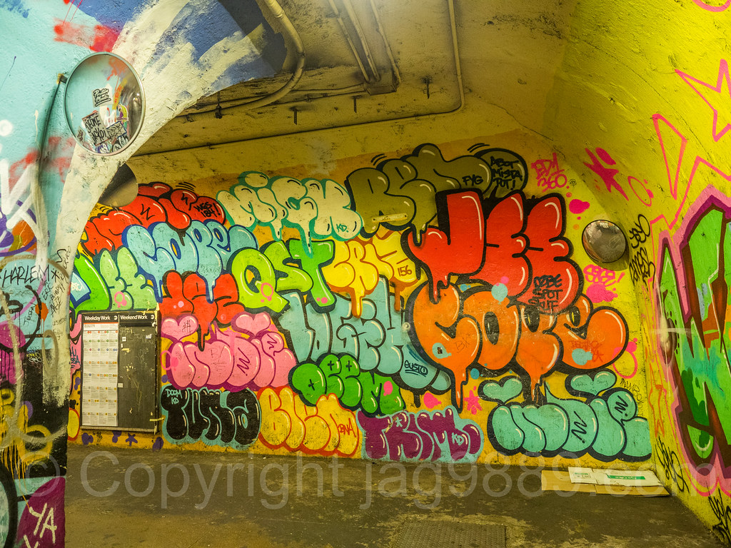 191st Street IRT Subway Tunnel Beautification Project, Was… | Flickr