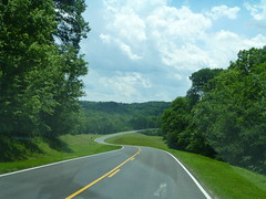 Starting on the Natchez Trace Parkway