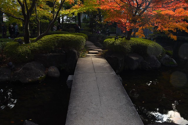 大田黒公園 石橋