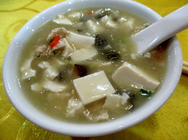 New Capitol Restaurant Foochow-style tofu soup with canned oysters