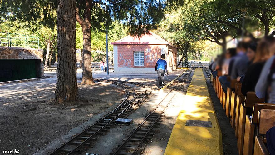 tren locomotora vapor La Granja Burjassot
