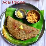 Karthigai adai recipe - Milagu Jeeraga Adai