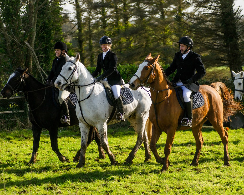 Dartfield Equestrian Center Fox Hunt Loughrea Ireland