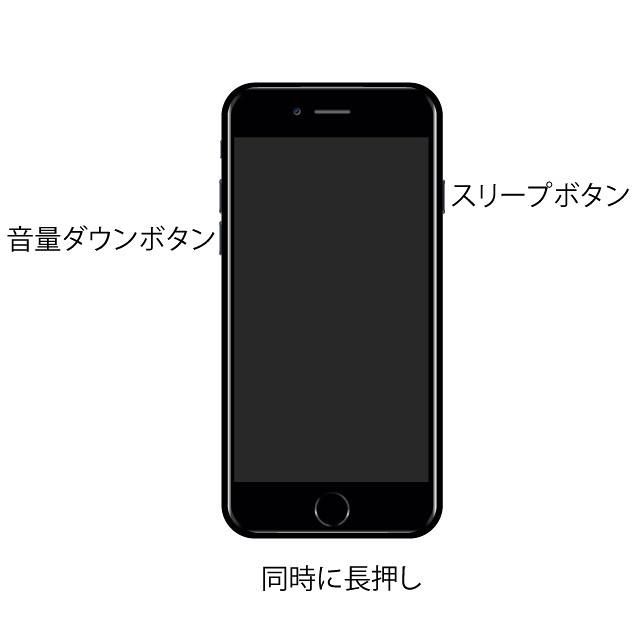 iPhone 7 ボタン