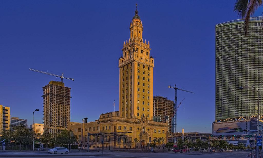 City of miami miami dade county florida usa miami for Bureau county metro center