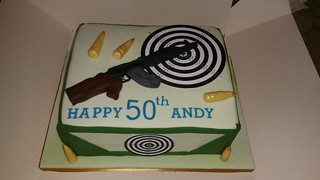 Rifle birthday cake | by platypus1974