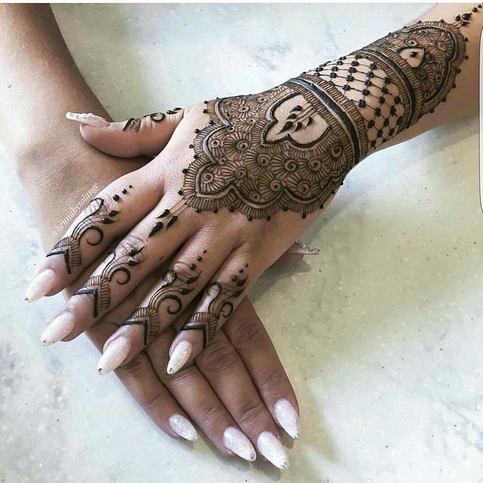 Simple Mehndi Designs 2018 New Style Simple Mehndi Desig Flickr