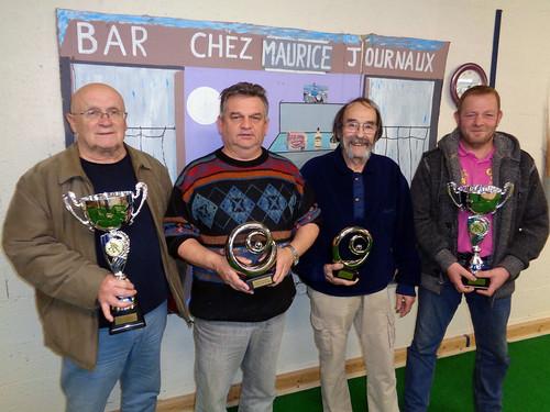 02/12/2017 - Saint Martin des Champs : Concours de boules plombées en doublette formée