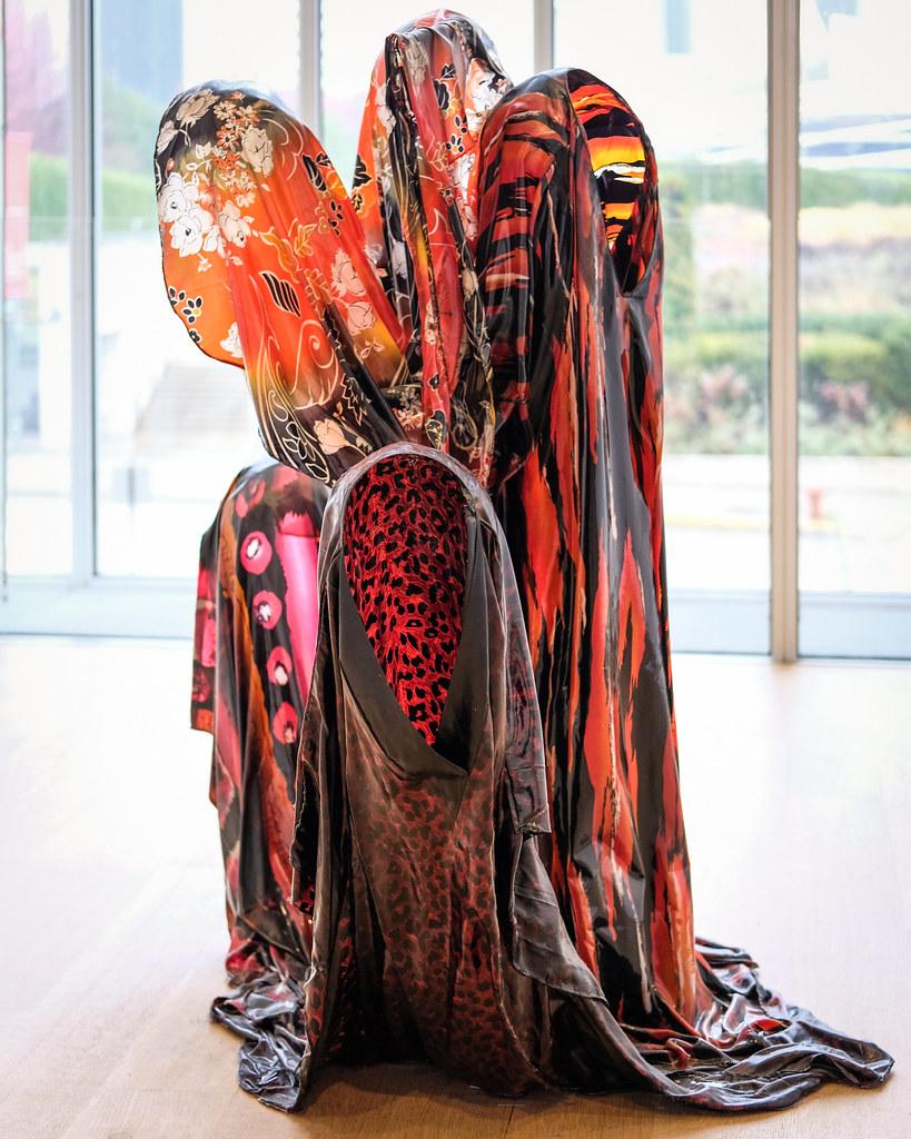 Kevin Beasley Untitled Filament Kaftans Resin Flickr