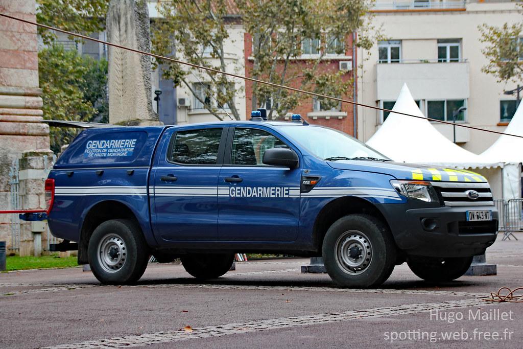 gendarmerie ford ranger infos peloton de gendarmerie d flickr. Black Bedroom Furniture Sets. Home Design Ideas