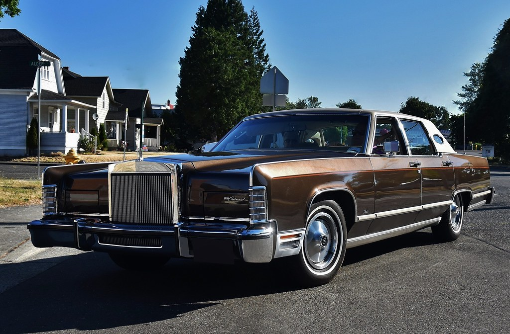 1978 Lincoln Continental Town Car Custom Cab Flickr