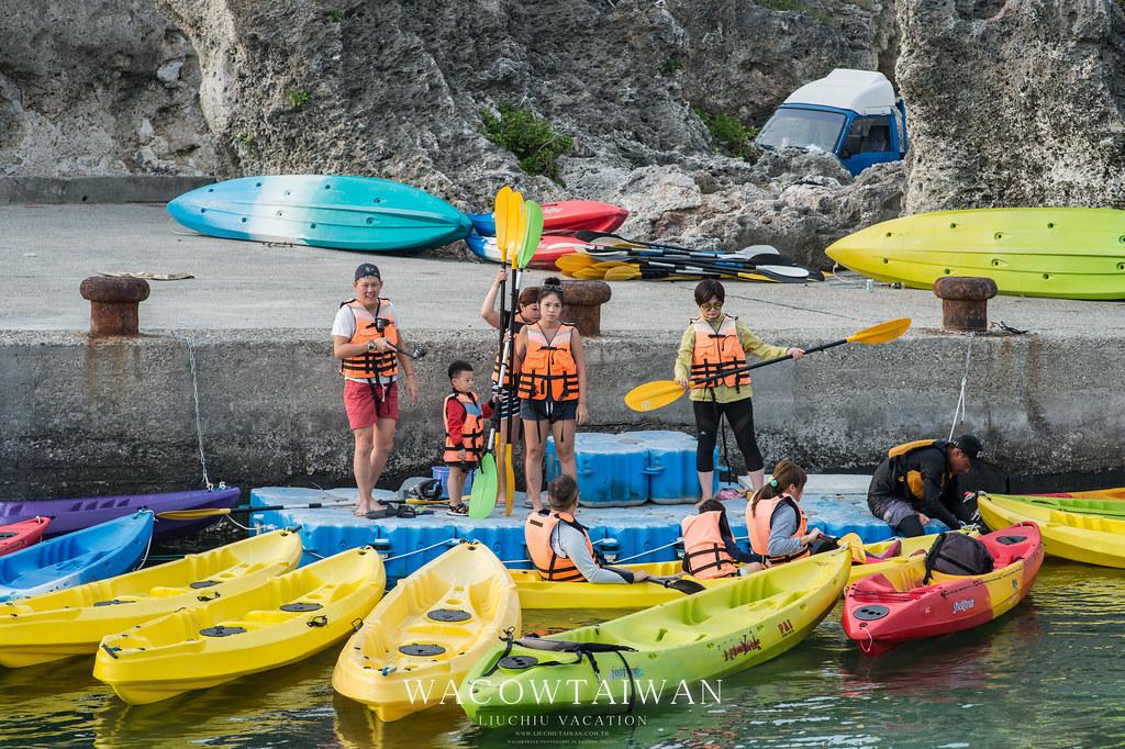 哇靠小琉球民宿網推薦小琉球獨木舟行程-小琉球旅遊新選擇