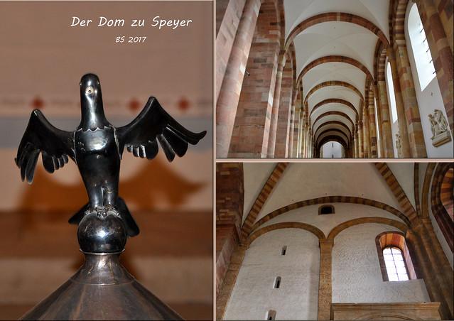 Speyer: Impressionen aus dem Dom-Innenraum ... Fotos: Brigitte Stolle 2017