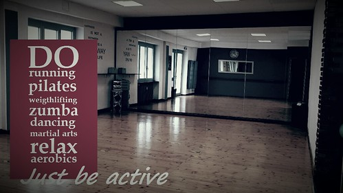 Just be active! | by Overside Gym