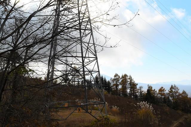 石割山の鉄塔