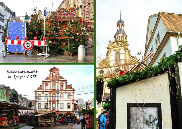 Weihnachtsmarkt 2017 in Speyer --- Fotos: Brigitte Stolle