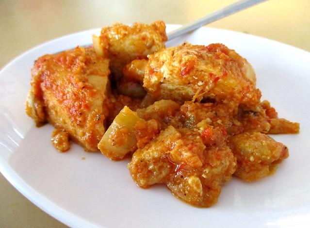 Sri Pelita prawn sambal tofu