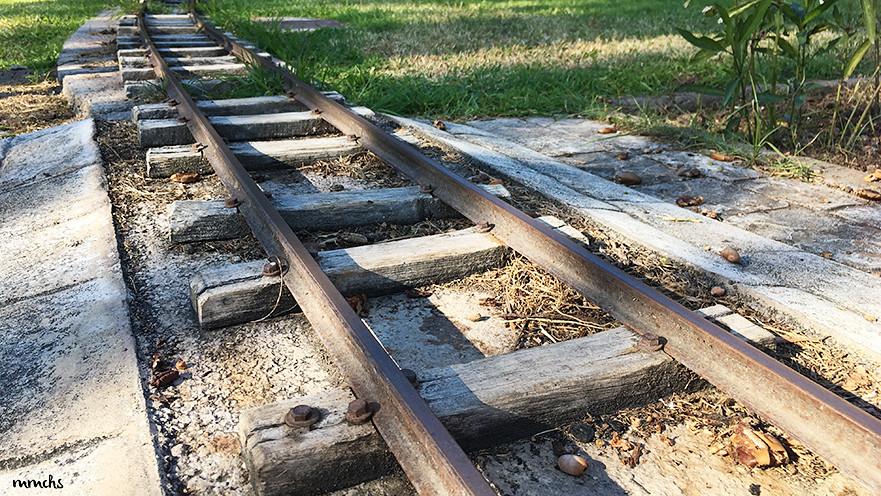 tren locomotora vapor de La Granja Burjassot