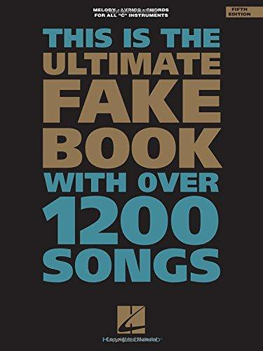 pdf download the ultimate fake book c edition fake boo flickr