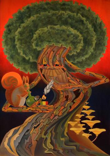 party Stoned tree. Stoned tree &...