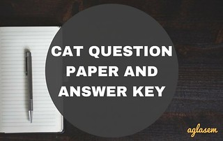 CAT 2018 Question Papers with Answer Keys (iimcat.ac.in)   Get Here