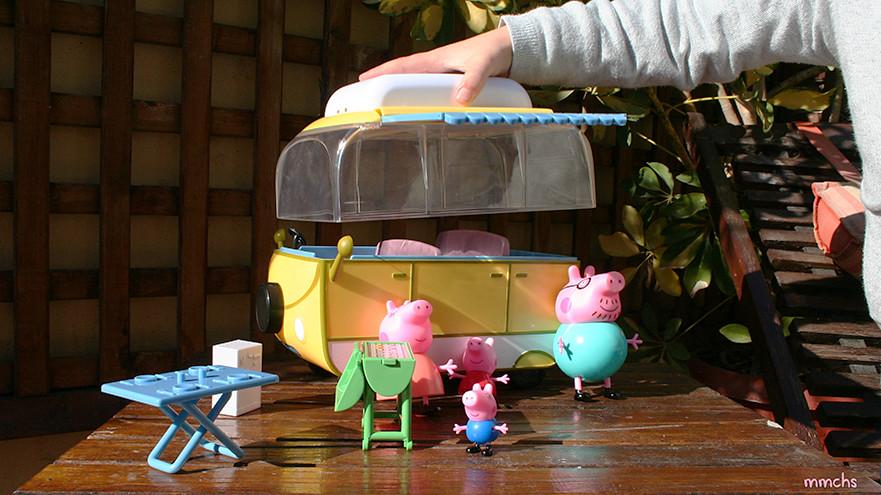 caravana de Peppa Pig