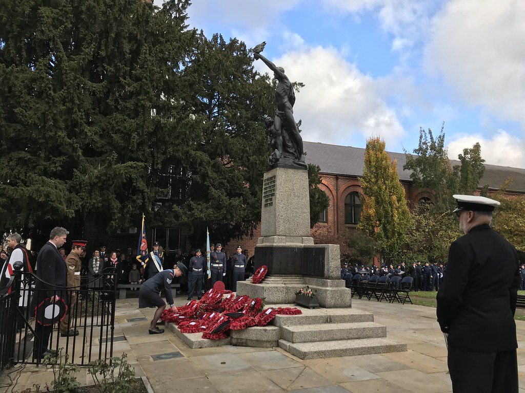 Remembrance Sunday kingston upon thames