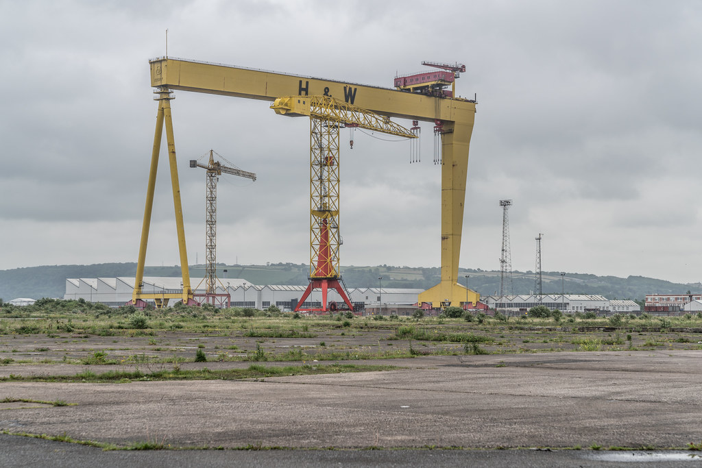 VIEW OF THE FAMOUS CRANES [SAMSON AND GOLIATH IN BELFAST] 008