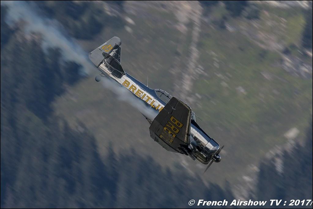T6 G BREITLING F-AZCQ , Breitling Sion Air Show 2017 , sion airshow , montagne , Alpes suisse , Canton du Valais , Meeting Aerien 2017