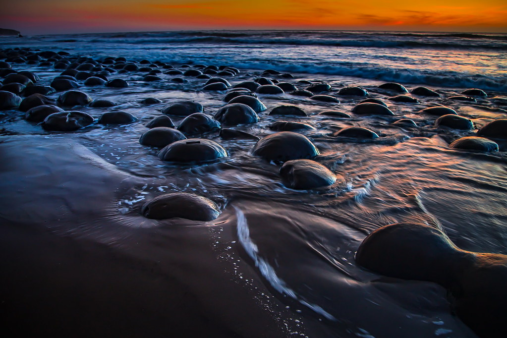 Bowling Ball Beach Pacific Coast California 6 Shots With Flickr