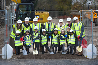 Ashmole Primary Ground Break Ceremony | by Gonul_Daniels