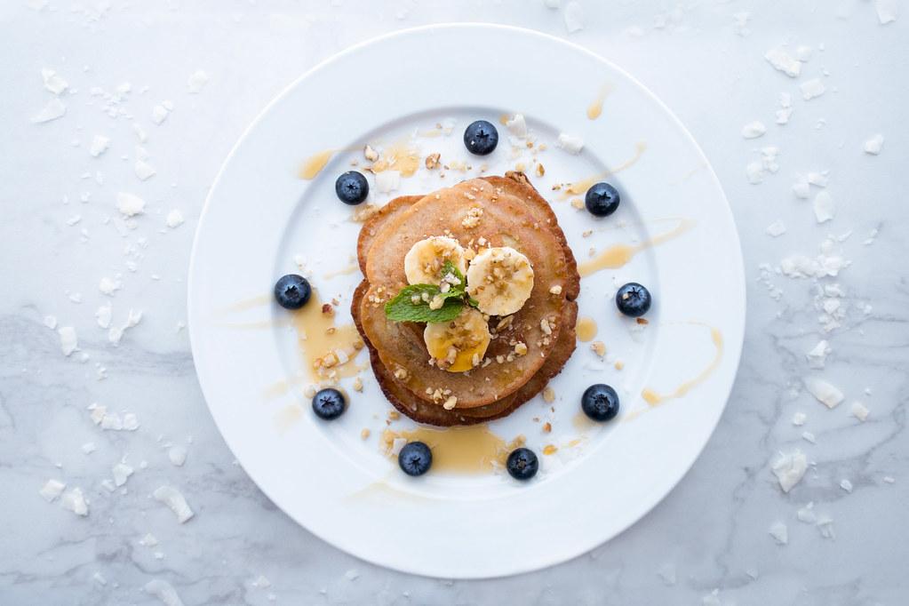 Organic Maple Syrup Pancakes