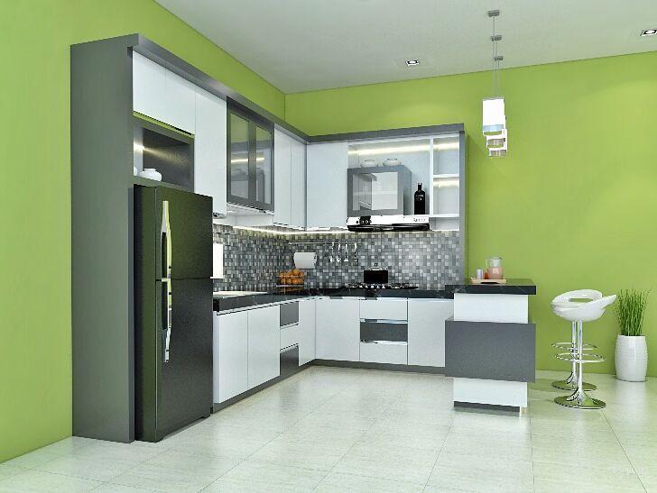 Rencana Desain Kitchenset Dan Minibar Minimalis Kerjasama Flickr